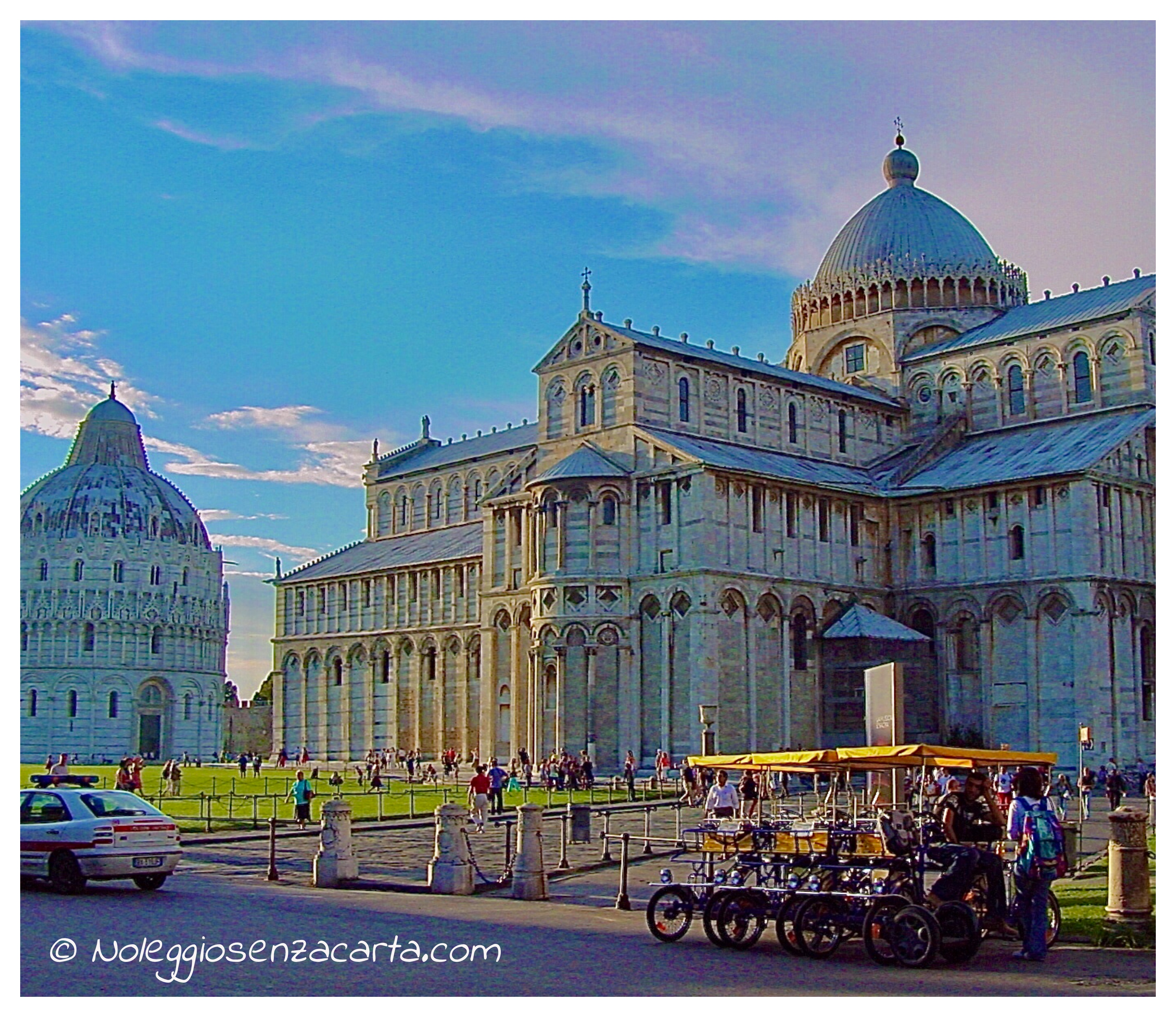 Alquiler coche Pisa sans tarjeta de crédito
