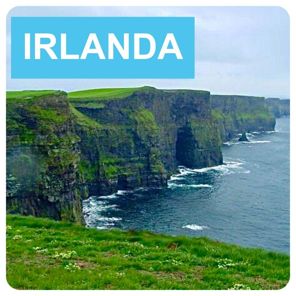 Alquiler coche sin tarjeta de crédito en Irlanda